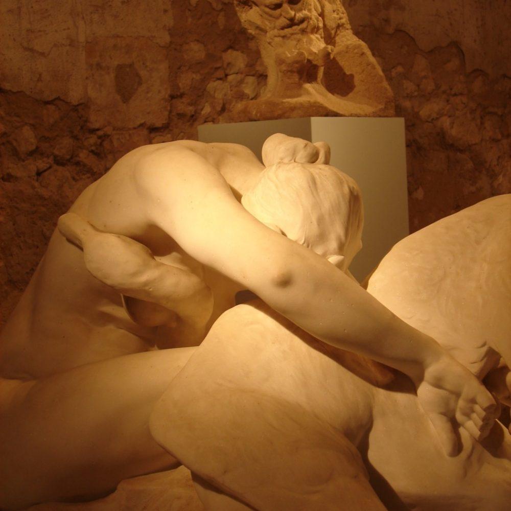 Des mots sur les sculptures