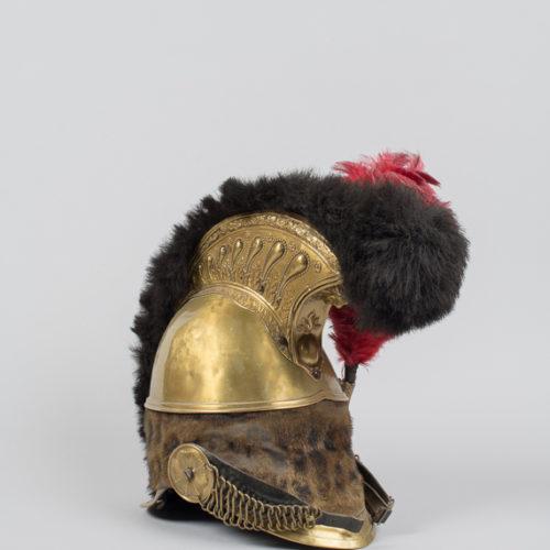 casque musée d'art et d'histoire Baugé - crédit CDP49