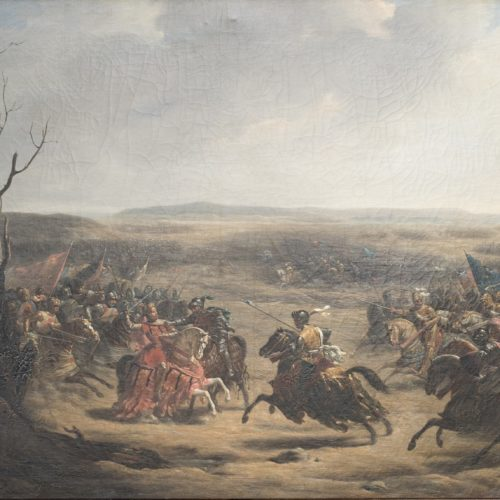 1421 <br> la bataille du Vieil-Baugé