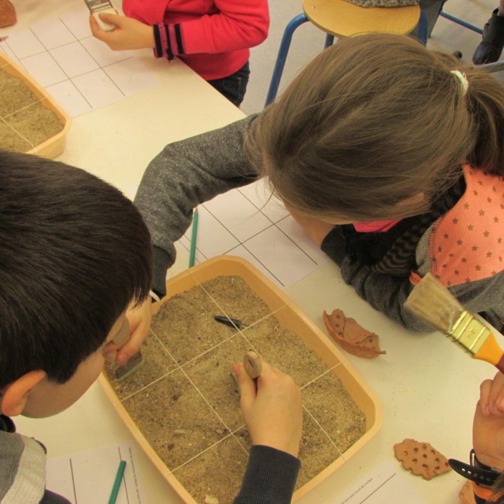 Les petits archéologues
